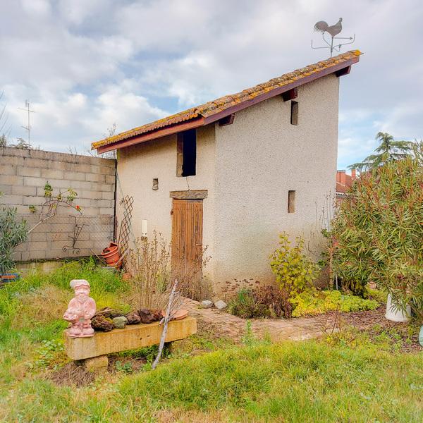 Proche centre ville, MAISON T5 d'environ 111 m² avec Garage, Jardin et Dépendances (dont 2ème garage)»